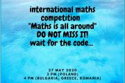 Τα μαθηματικά βρίσκονται παντού - Maths is all around (26.05.2020)