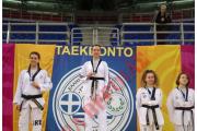 Απονομή Χρυσού Μεταλλίου - Σχολικοί Αγώνες Tae Kwon Do - Συγχαρητήριο (Μάρτιος 2018)