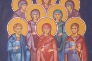 Αγίες Φωτεινή, Ανατολή, Φωτώ, Φωτίς, Παρασκευή και Κυριακή, άγιοι Βίκτωρ, Ιωσής και Σεβαστιανός ο Δούκας